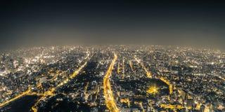 Σκηνή νύχτας της Οζάκα Στοκ εικόνες με δικαίωμα ελεύθερης χρήσης