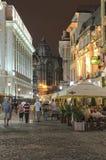 Σκηνή νύχτας του Βουκουρεστι'ου Στοκ Εικόνα