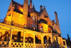 Σκηνή νύχτας του κάστρου Στοκ Φωτογραφία
