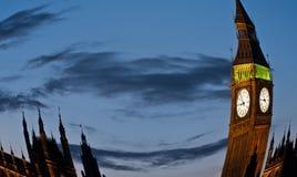 σκηνή νύχτας του Λονδίνο&upsilon Στοκ εικόνα με δικαίωμα ελεύθερης χρήσης