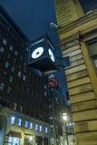 Σκηνή νύχτας του Μόντρεαλ Στοκ εικόνα με δικαίωμα ελεύθερης χρήσης