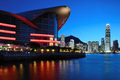 σκηνή νύχτας του Χογκ Κο&gamm στοκ εικόνες