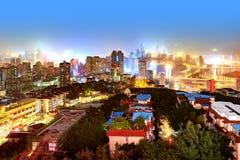 Σκηνή νύχτας Chongqing Στοκ φωτογραφίες με δικαίωμα ελεύθερης χρήσης