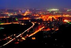 Σκηνή νύχτας Chongqing Στοκ φωτογραφία με δικαίωμα ελεύθερης χρήσης