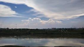 Σκηνή ουρανού Στοκ Φωτογραφίες