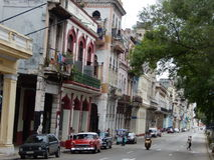 Σκηνή οδών, Αβάνα, Κούβα Στοκ εικόνα με δικαίωμα ελεύθερης χρήσης