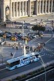 Σκηνή οδών σε Plaza Espana Στοκ εικόνα με δικαίωμα ελεύθερης χρήσης