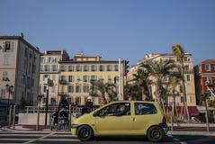 Σκηνή οδών της Νίκαιας Γαλλία Στοκ Εικόνες