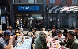 Σκηνή οδών του Μανχάταν, NYC Στοκ φωτογραφίες με δικαίωμα ελεύθερης χρήσης