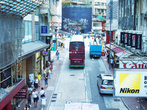 Σκηνή οδών του Χογκ Κογκ Στοκ εικόνα με δικαίωμα ελεύθερης χρήσης