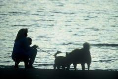 σκηνή παραλιών Στοκ εικόνες με δικαίωμα ελεύθερης χρήσης