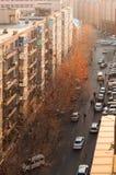 Σκηνή πρωινού κεντρικός του Dalian Στοκ εικόνα με δικαίωμα ελεύθερης χρήσης