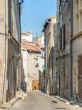 Σκηνή πόλεων σε Arles, Γαλλία Στοκ Φωτογραφίες