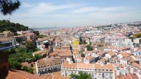 Σκηνή πόλεων της Λισσαβώνας Στοκ Φωτογραφία