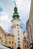 Σκηνή στη Μπρατισλάβα, Σλοβακία Στοκ φωτογραφία με δικαίωμα ελεύθερης χρήσης