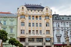 Σκηνή στη Μπρατισλάβα, Σλοβακία Στοκ Φωτογραφίες