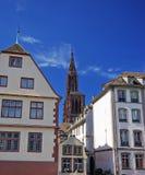 σκηνή Στρασβούργο Στοκ φωτογραφία με δικαίωμα ελεύθερης χρήσης
