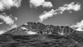 Σκηνή τοπίων βουνών της Παταγωνίας, Aisen Χιλή Στοκ Εικόνες