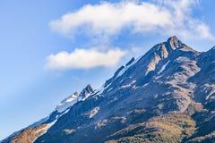 Σκηνή τοπίων βουνών της Παταγωνίας, Aisen Χιλή Στοκ Εικόνα
