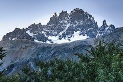 Σκηνή τοπίων της Παταγωνίας, Aysen, Χιλή στοκ φωτογραφία