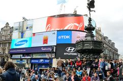 Σκηνή του Λονδίνου. Στοκ εικόνα με δικαίωμα ελεύθερης χρήσης