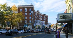 Σκηνή του ξενοδοχείου του Νόρθαμπτον στο Νόρθαμπτον, Μασαχουσέτη στοκ φωτογραφία με δικαίωμα ελεύθερης χρήσης