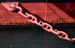 Σκηνή του σκάφους του λιμένα Στοκ Εικόνες