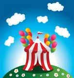 σκηνή τσίρκων Στοκ εικόνες με δικαίωμα ελεύθερης χρήσης