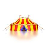 Σκηνή τσίρκων Στοκ Φωτογραφίες
