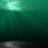 σκηνή υποβρύχια Στοκ εικόνες με δικαίωμα ελεύθερης χρήσης