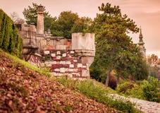 Σκηνή φθινοπώρου από το φρούριο Βελιγραδι'ου Στοκ Φωτογραφία