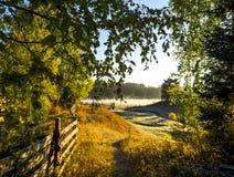 Σκηνή φθινοπώρου Στοκ Εικόνα