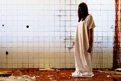 Σκηνή φρίκης Στοκ φωτογραφίες με δικαίωμα ελεύθερης χρήσης