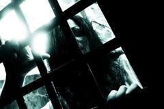 Σκηνή φρίκης Στοκ φωτογραφία με δικαίωμα ελεύθερης χρήσης
