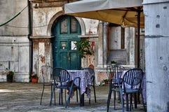 σκηνή χαρακτηριστική Βενετία της Ιταλίας πόλεων Στοκ Εικόνες