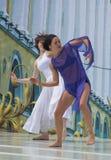 σκηνή χορευτών Στοκ εικόνες με δικαίωμα ελεύθερης χρήσης