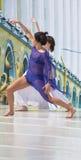 σκηνή χορευτών Στοκ φωτογραφία με δικαίωμα ελεύθερης χρήσης