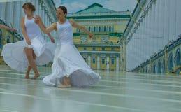 σκηνή χορευτών Στοκ Εικόνες