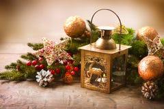 Σκηνή Χριστουγέννων Στοκ φωτογραφίες με δικαίωμα ελεύθερης χρήσης