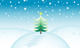 σκηνή Χριστουγέννων Στοκ εικόνα με δικαίωμα ελεύθερης χρήσης
