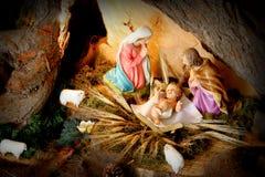 σκηνή Χριστουγέννων Στοκ Φωτογραφίες