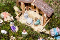Σκηνή Χριστουγέννων - Nacimiento στοκ εικόνες με δικαίωμα ελεύθερης χρήσης