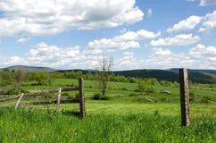 Σκηνή χώρας, κοιλάδα του Hudson, Νέα Υόρκη στοκ εικόνα με δικαίωμα ελεύθερης χρήσης