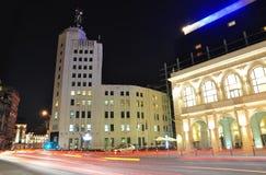 Σκηνή 9 νύχτας του Βουκουρεστι'ου Στοκ φωτογραφία με δικαίωμα ελεύθερης χρήσης