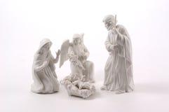 σκηνή nativity μικρή Στοκ Φωτογραφίες