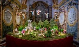 Σκηνή Nativity στον καθεδρικό ναό Monreale, Σικελία στοκ φωτογραφίες με δικαίωμα ελεύθερης χρήσης