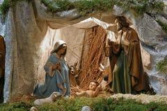 σκηνή nativity Στοκ Φωτογραφίες
