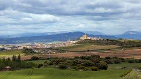 Σκηνή Navarra Ισπανία τοπίων Στοκ εικόνα με δικαίωμα ελεύθερης χρήσης