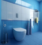 Σκηνή WC λουτρών Ελεύθερη απεικόνιση δικαιώματος