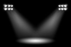 Σκηνικά φω'τα Στοκ φωτογραφίες με δικαίωμα ελεύθερης χρήσης